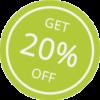 Get Off 20 Prozent